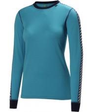 Helly Hansen 27992-570IBL-L Ladies tøris blue 2 pack baselayer - størrelse l